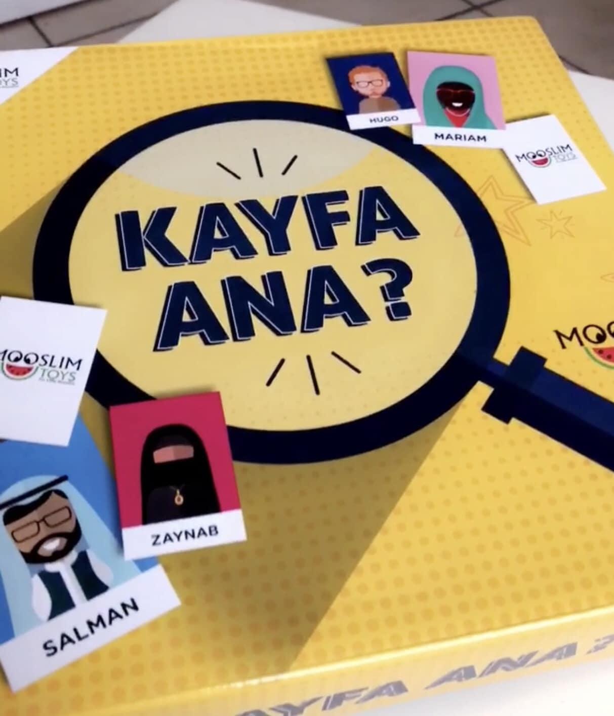 KAYFA ANA : Jeu «Qui est ce ? »